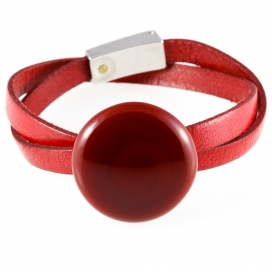 MuSe By Kairos Murano Bracelet Luna Red